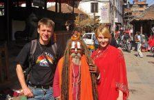 Nepal - facet po środku jest świetny.