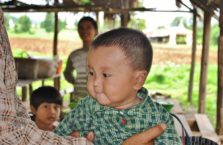 Birma - chłopiec.