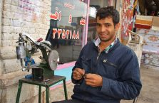 Iran - młody mężczyzna.
