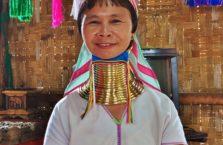Birma - długa szyja.