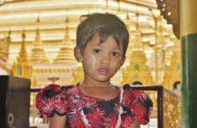 Birma - dziewczynka.