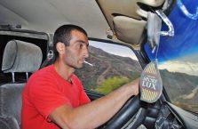 Armenia - kierowca ciężarówki.