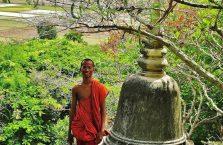 Kambodża - mnich.