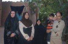Iran - irańska rodzina.