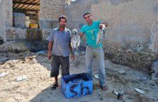 Iran - rybacy na wyspie Qeshm.
