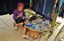 Wietnam - starsza kobieta na północy kraju.