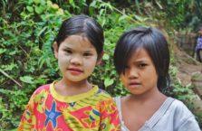 Birma - dziewczynki.