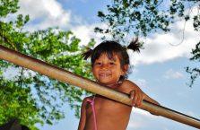 Kambodża - dziecko.