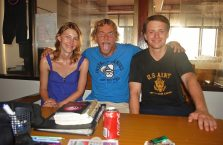 Tajlandia - z naszym szwedzkim instruktorem nurkowania.