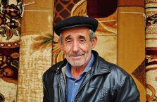 Azerbejdżan - starszy Pan.