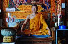 Tajlandia - mnich.