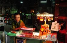 Singapur - Hindus o wnikliwym spojrzeniu.