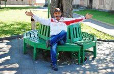 Górski Karabach - wesoły człowiek.