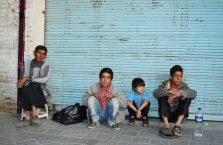 Iran - chłopcy.