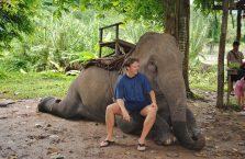 Tajlandia - ze słoniem.