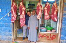 Jordania - sprzedawcy mięsa.