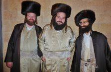 Izrael - żydzi pozujący mi do zdjęcia.