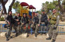 Izrael - z izraelską policją.