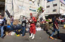 Palestyna -sprzedwca kawy.