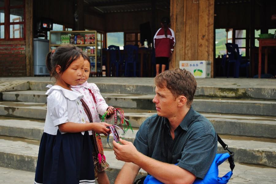 Spotyka się z wietnamskim Amerykaninem