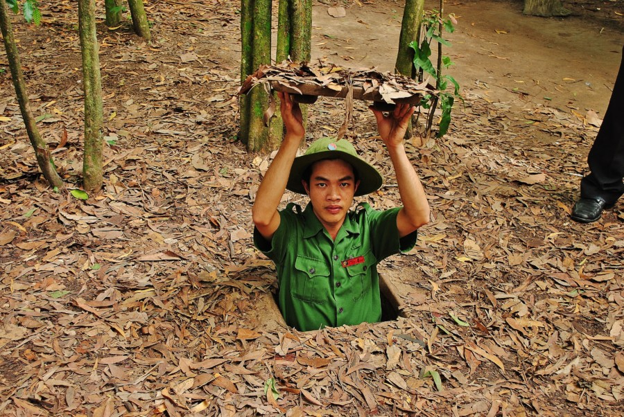 Tunele Cu Chi Wietnam