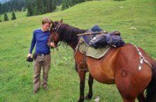 Kirgistan - z moim koniem.