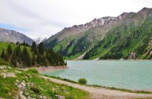 Kazachstan - jezioro Almaty.