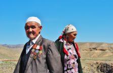 Kazachstan - stare małżeństwo.
