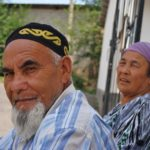Kazachstan - starsza para.