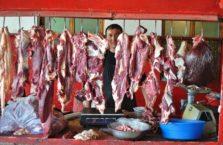 Kazachstan - w mięsnym.
