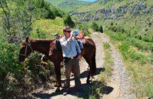 Kazachstan - z moim koniem.
