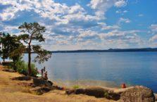 Kazachstan - jezioro Burabay.