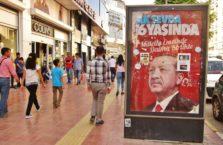 Turcja - Erdogan. Później poszliśmy razem na herbatę.