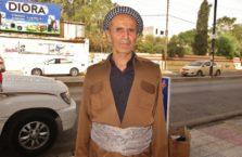 Iracki Kurdystan - kurdyjski senior.