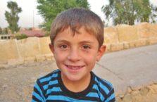 Iracki Kurdystan - kurdyjski chłopiec.