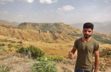 Iracki Kurdystan - mężczyzna, którego spotkałem na drodze.