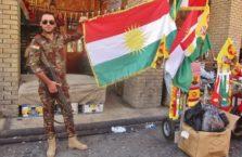 Iracki Kurdystan - żołnierz Peshmerga.