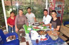 Iracki Kurdystan - obiad z Kurdami.
