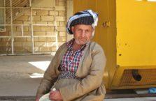 Iracki Kurdystan - kurdyjski mężczyzna w tradycyjnym stroju.