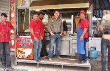 Turcja - z personelem kebaba.