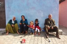 Turcja - rodzina kurdyjska z Diyarbakir.
