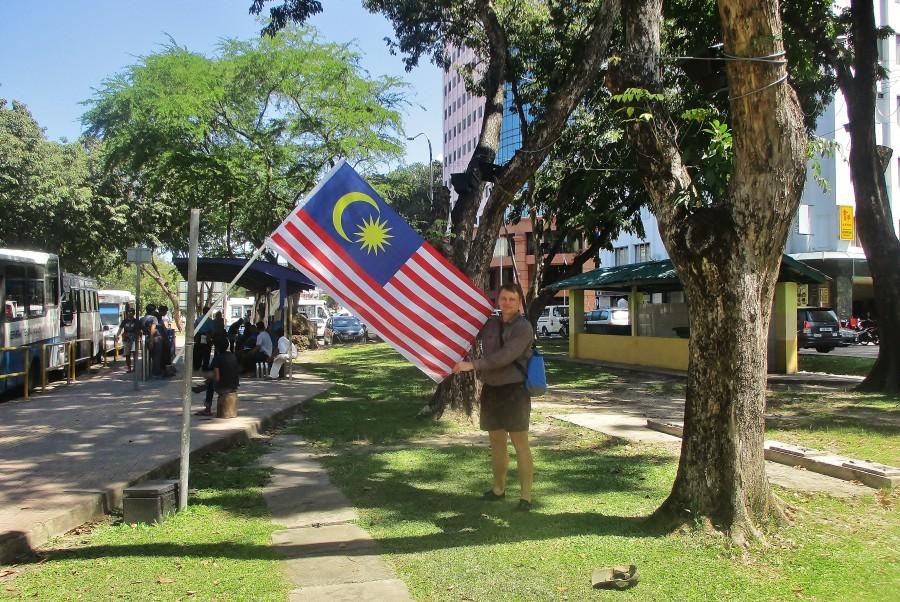 Flaga Malezji.