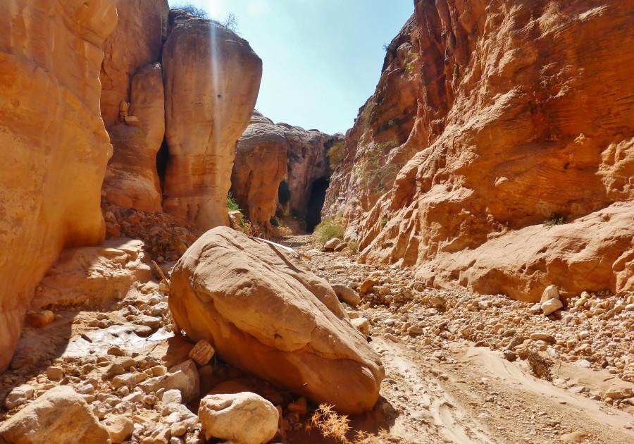 Droga do Petry poprzez tajny kanion