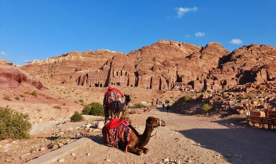 Królewskie Grobowce. Petra, Jordania.