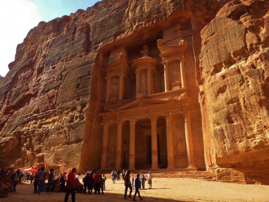 Treasury. Petra, Jordan.