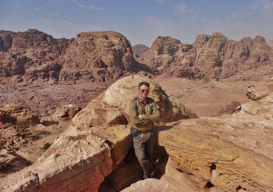 Highest Place of Sacrifice. Petra, Jordan.