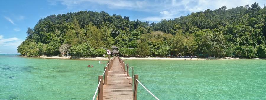 Tunku Abdul Rahman marine national park.