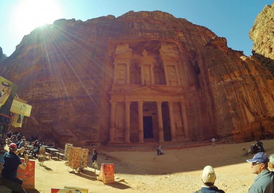 The Treasury. Petra, Jordan.