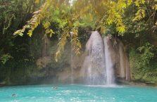 Wodospady Kawasan Cebu (1)