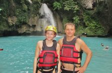 Wodospady Kawasan Cebu (3)